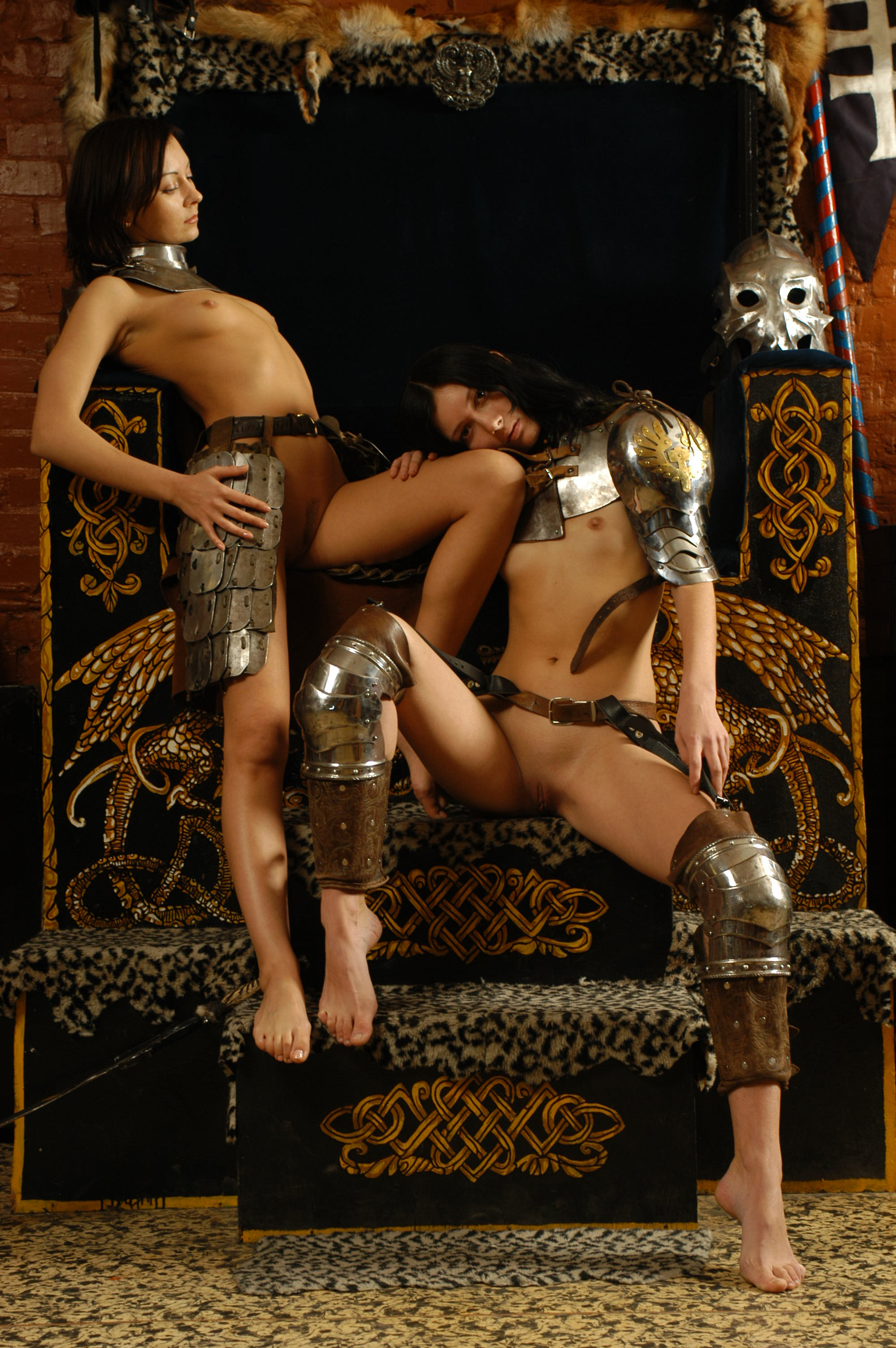 Medieval lesbian naked sexy movie