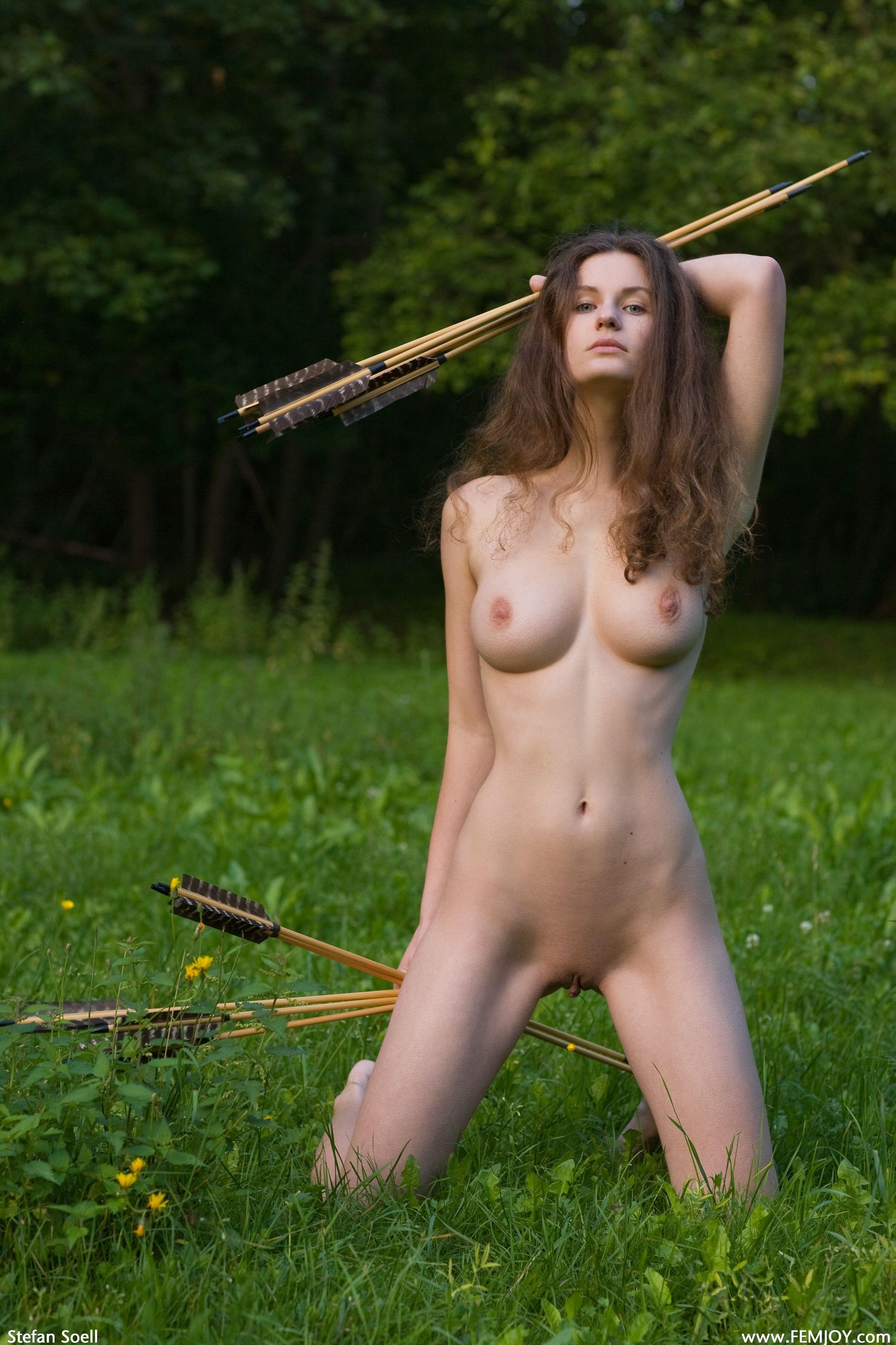 Секс с лучницей 6 фотография