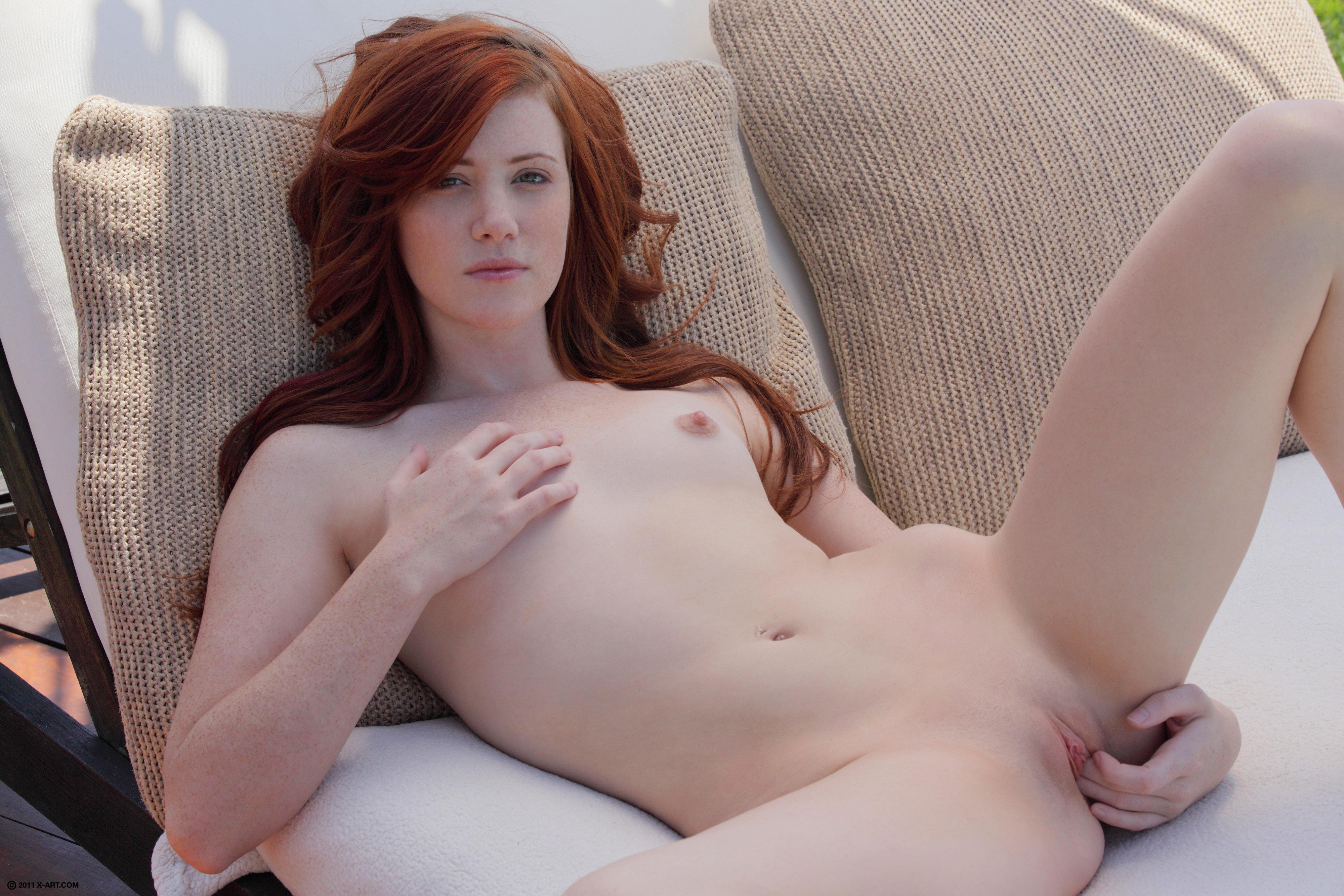 мастурбация рыжие онлайн