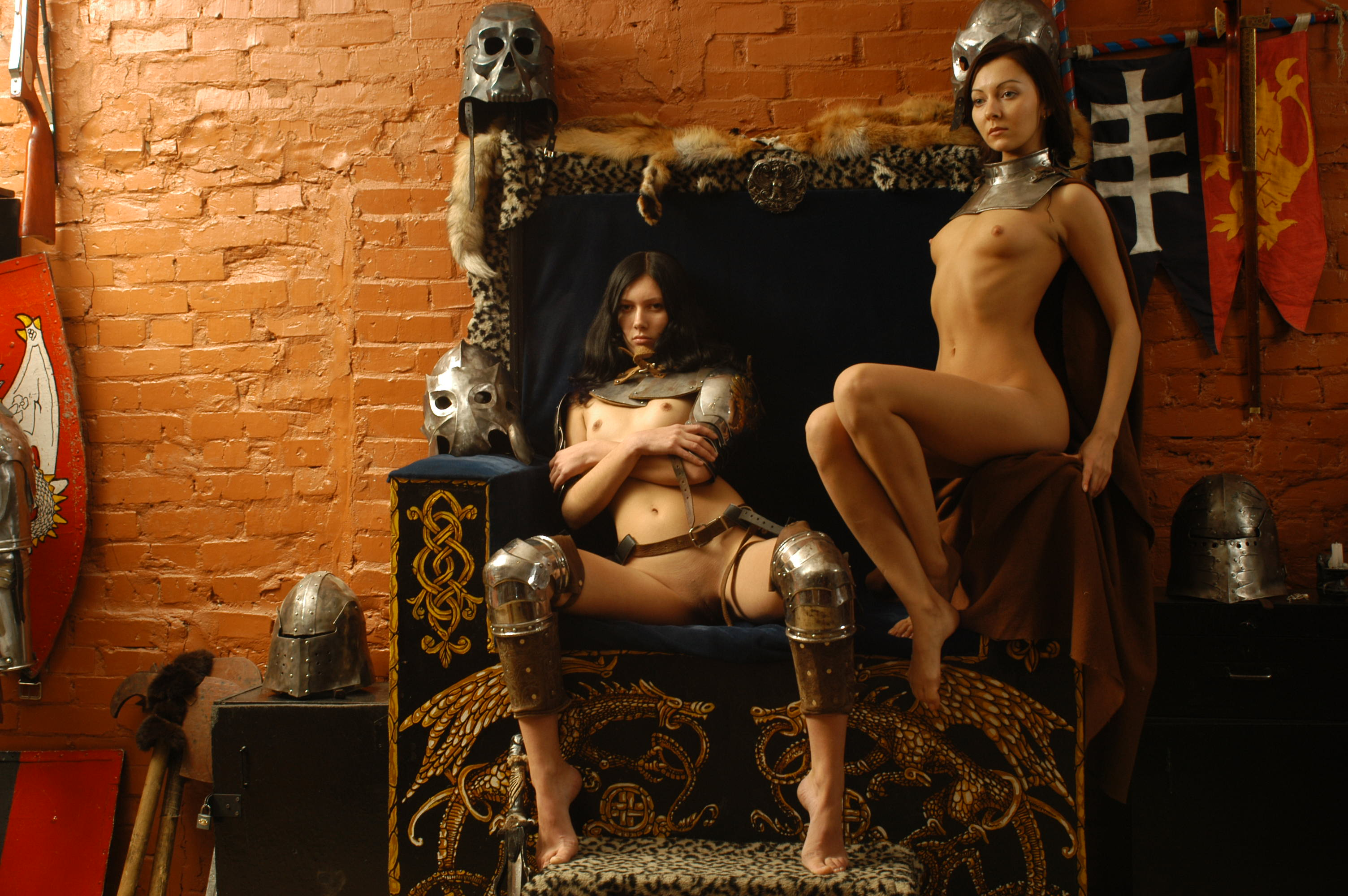 Erotic warrior gallery nude scenes