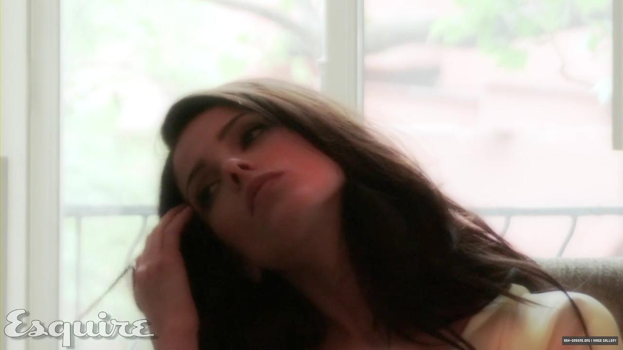 Ashley Greene Lingerie Shoot in Esquire