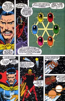 Image result for dr strange vs thanos