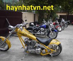 """Dàn Harley """"khủng"""" ở Hà Nội."""
