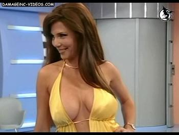 Argentina Celebrity Celina Rucci Big tits cleavage damageinc