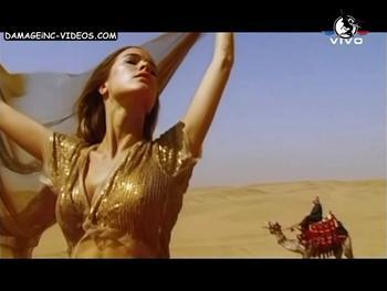 Argentina Model Cecilia Bonelli in Egypt