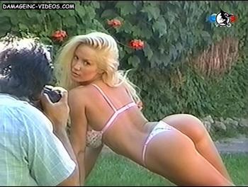 Argentina Celebrity Luciana Salazar hot butt in bikini