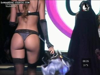 Noelia Rios hot ass in thong