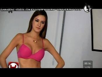 Giuliana Maglietti pink bra