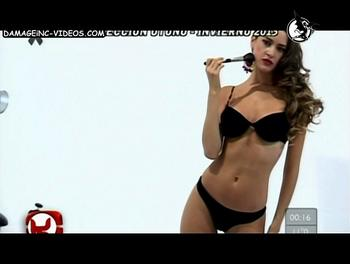 Giuliana Maglietti black lingerie