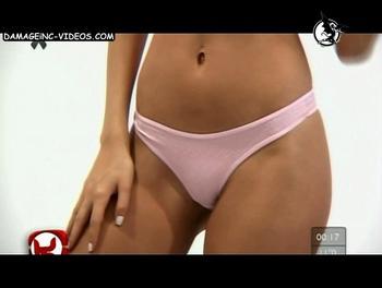 Giuliana Maglietti pink thong