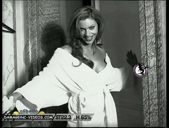 Karina Mazzocco half naked