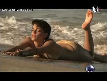 Emilia Attias in bikini