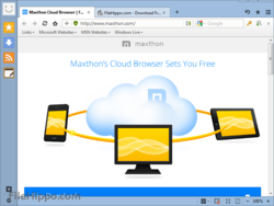 Maxthon Cloud Browser for Windows V4.4.2.600 Beta is released ...