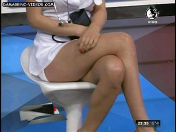 Vicky Turusha hot legs