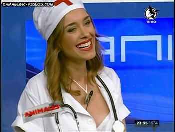 Vicky Turusha cleavage
