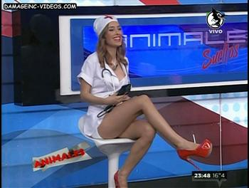 Vicky Turusha red shoes bitchy nurse