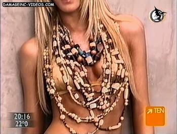 Arentina model Julieta Prandi sexy bikini
